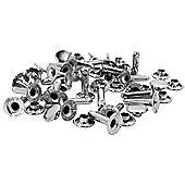 Rapid Tubular Rivets 9 x 3 x 13mm, Cap 3 x 10mm (Pack of 25)