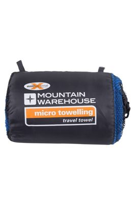 Mountain Warehouse Micro Towelling Travel Towel - Large - 130 x 70cm