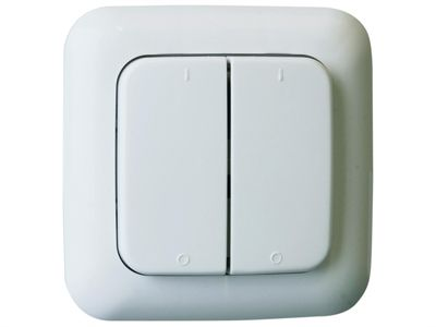 Byron Home Easy Remote Control 2G Single Switch White