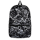 Mineral Graphic Black Backpack