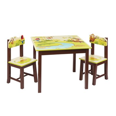 Liberty House Jungle Party Table & Chairs Set