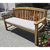 Three Seater Bench Cushion Natural