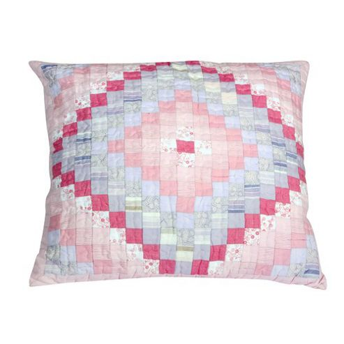 Woven Magic Trip Around The World Pink Lilac Cushion