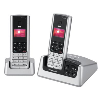 BT Freestyle 350 Twin Telephone Pack