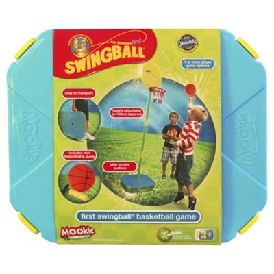 First Basketball Swingball Set
