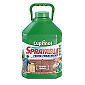 Cuprinol Sprayable Timbercare, 5L, Autumn Brown