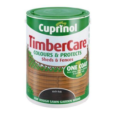 Cuprinol Timbercare, 5L, Rich Oak