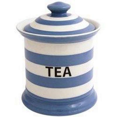Fairmont and Main Blue Striped Tea Storage Jar KSDB50