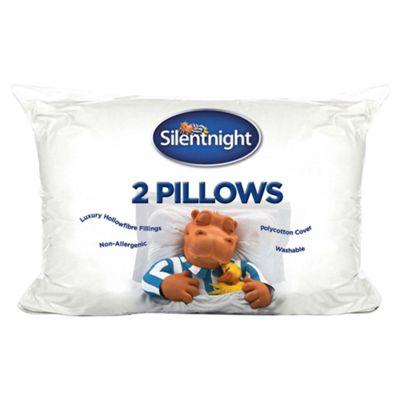 Silentnight Hollowfibre Pillow Twinpack