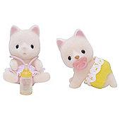 Sylvanian Families - Silk Cat Twins