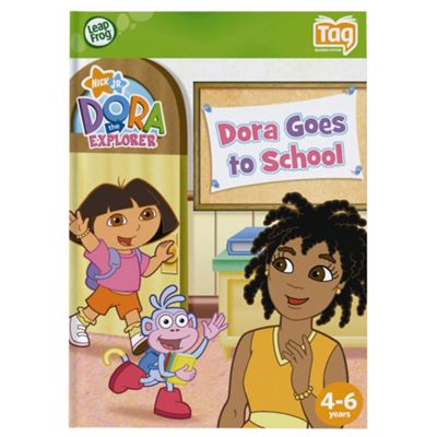 LeapFrog® LeapReader™ Book: Dora the Explorer: Dora Goes to School
