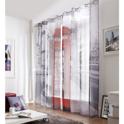 Alan Symonds Westminster Eyelet Lined Voile 58x90 Inches (147x229cm)