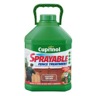 Cuprinol Spray Fence Treatment Harvest Brown