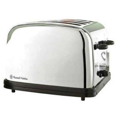 Russell Hobbs 13767 Classic 4-Slice Toaster - Stainless Steel