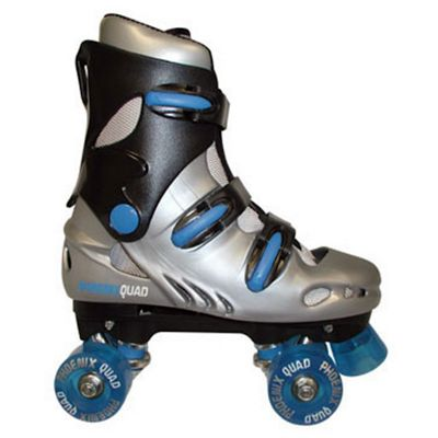 Phoenix Quad Skates - Blue - Size 12 Jnr