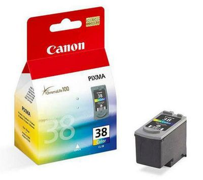 Canon CL-38 Printer Ink Cartridge - Colour