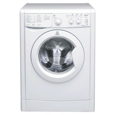 Indesit IWC6145 Washing Machine, 6kg Wash Load, 1400 RPM Spin, A Energy Rating. White