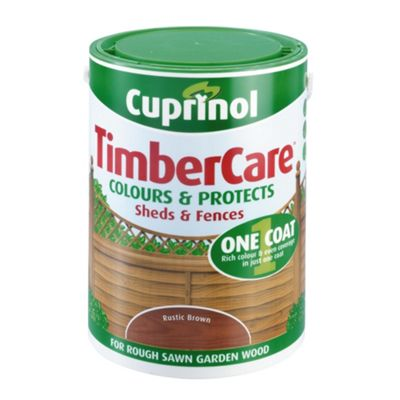 Cuprinol Timbercare, 5L, Rustic Brown