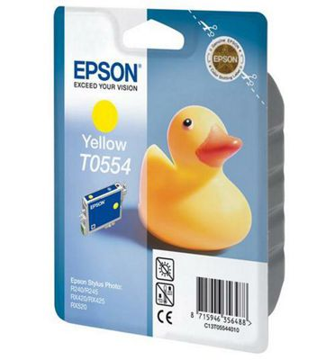 Epson T0554 printer ink cartridge - Yellow