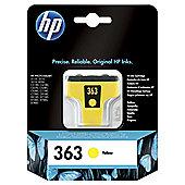 HP 363 Yellow Original Ink Cartridge