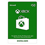 Xbox Live £50 GBP  Xbox One (Digital Download Code)