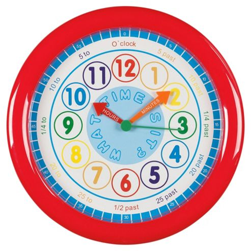 Kids Tell The Time Clock