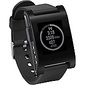 Pebble Smartwatch With Flexible Strap For Compatible with iPhone & Android-301BL