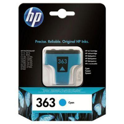 HP 363 Cyan Original Ink Cartridge
