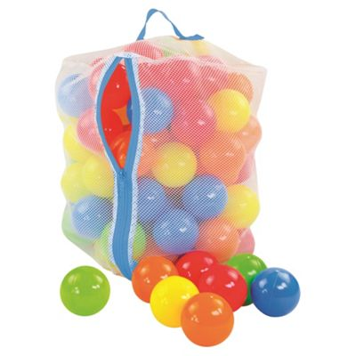Tesco 100 Playballs, Multicoloured