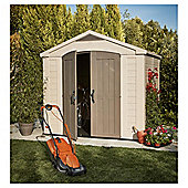 Keter Apex Plastic Garden Shed, 8x8 ft