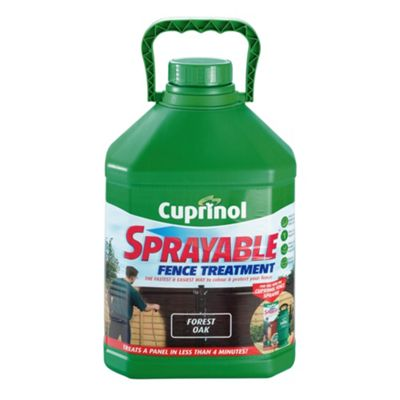Cuprinol Sprayable Timbercare, 5L, Forest Oak