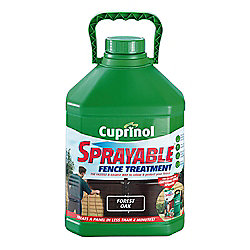 Cuprinol Sprayable Timbercare, 5L, Forest Oak