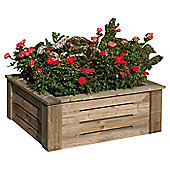 Rowlinson Raised Wooden Flower Bed