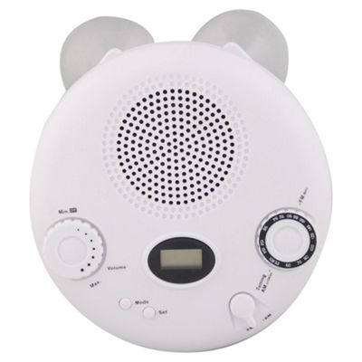 Tesco Value RAD 307 AM/FM Shower Clock Radio