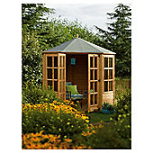 Rowlinson Ryton Octagonal Wooden Summerhouse, 8x8ft