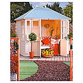 Rowlinson Chatsworth Wooden Summerhouse, 8x6ft