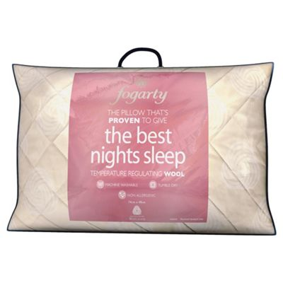 Fogarty Best Night'S Sleep Wool Pillow