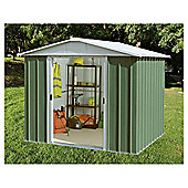 Yardmaster Metal Apex Shed, 8x9ft