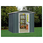 Yardmaster Titan Metal Apex Shed, 6x8ft