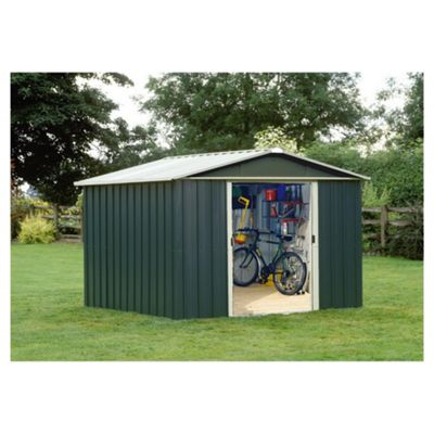 Yardmaster Titan Metal Apex Shed, 10x8ft