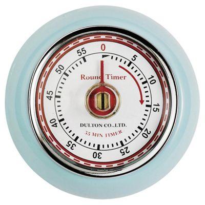 Magnetic Retro Timer, Blue