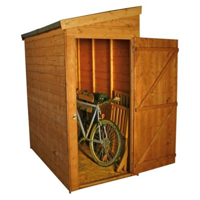 Mercia Universal Pent Wooden Shed, 6x3ft