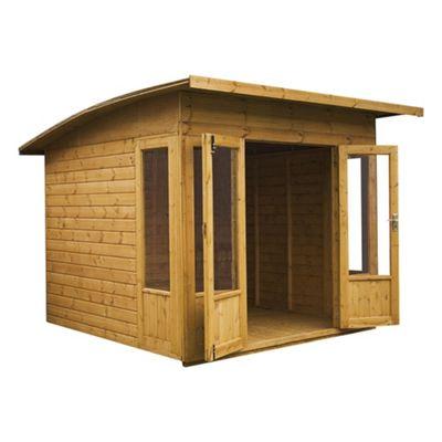 Mercia Helios Wooden Summerhouse, 8x8ft