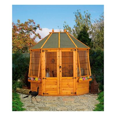 Mercia Buttermere Octagonal Wooden Summerhouse, 8x6ft