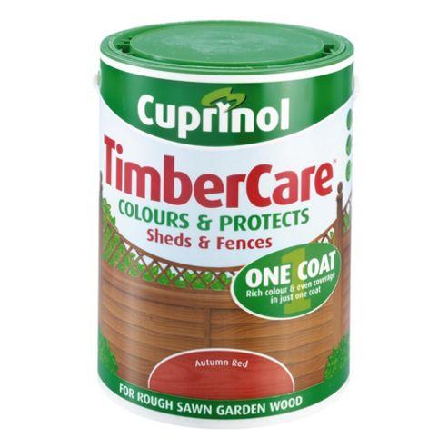 Cuprinol Timbercare, 5L, Autumn Red