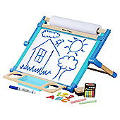 Melissa & Doug Wooden Double-Sided Tabletop Easel