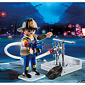 Playmobil Special Plus Fireman with Hose