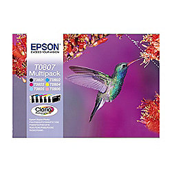 Epson Multipack 6-Colour T0807 Claria Photographic Ink
