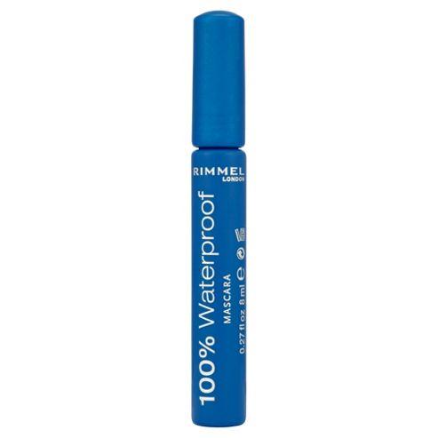 Rimmel 100% Waterproof Mascara Black