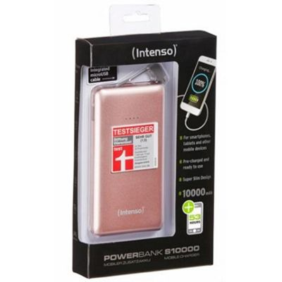 Intenso S10000 Lithium Polymer (LiPo) 10000mAh Pink power bank